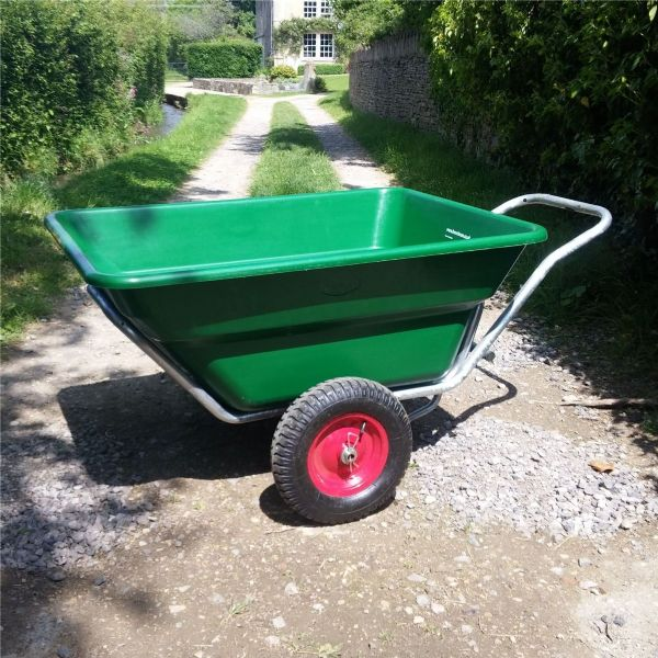 350 Henchman Wheelbarrow | Large Twin Wheel barrow